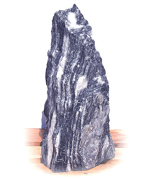 Arctic Blue Marmor Quellstein Nr 79/H 53cm VERKAUFT