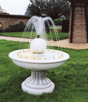 Springbrunnen Fontana Alassio/2
