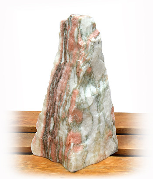 Norwegisch Pink Marmor Quellstein Nr 41/H 46cm (Quellsteine)/ Bild 1