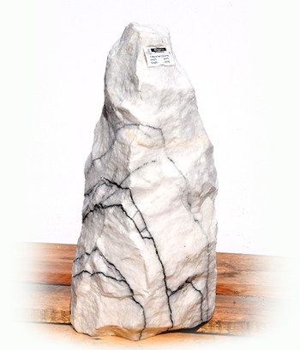 Purple Wave Marmor Quellstein Nr 58/H 47cm (Quellsteine)/ Bild 2