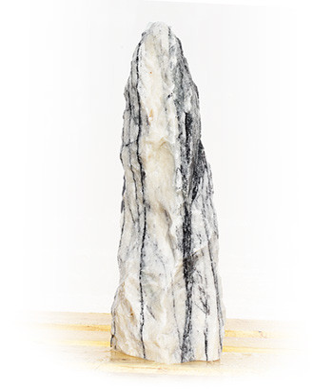 Purple Wave Marmor Findling Nr 119/H 105cm - Bild 01