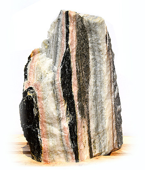 Sölker Marmor Quellstein Nr 266/H 65cm Bild 02