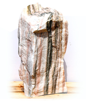 Sölker Marmor Quellstein Nr 269/H 68cm - Bild 02