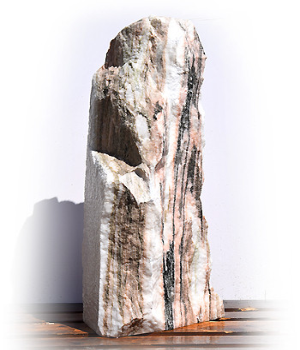 Sölker Marmor Quellstein Nr 225/H 111cm/4