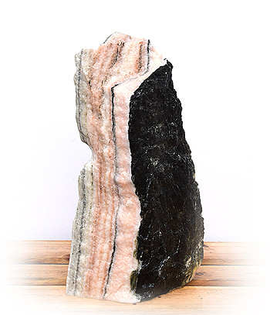 Sölker Marmor Findling Nr 257H 75cm B2