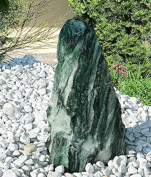 Quellstein Brunnen Set Lappland Green 60/2