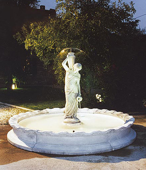 Springbrunnen Fontana Napoli Bild 01
