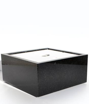 Steinschale Granit Nero Assoluto/ Bild 1