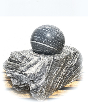 Kugelbrunnen Wachauer Marmor DM30 B2