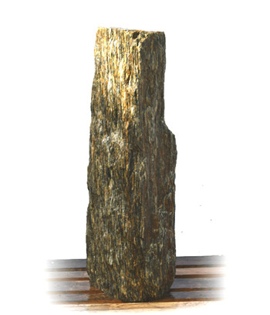Woodstone Gneis Quellstein Nr 35/H 124cm (Quellsteine)/ Bild 2
