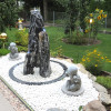 Quellsteinbrunnen 3er Set Black Angel Natur 120 - Bild 1