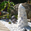 Quellsteinbrunnen Set Purple Wave Marmor 80 Bild 01